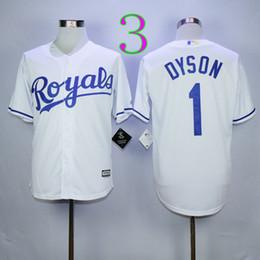 417730c1c ... Mens 2 Kansas City Royals Gold Program 2015 Kansas City Royals 1 Jarrod  Dyson Jersey Baby Blue Grey White KC Baseball Jerseys Stitched with ...
