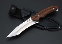 Micarta handle online shopping - Drop Shipping Top Quality SOG KU CNC AUS Blade Micarta Handle Outdoor Camping Hunting Fixed Blade knife Survival Straight Knives