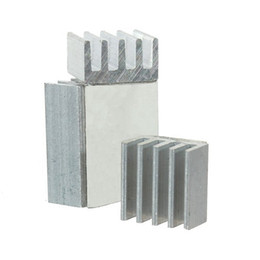 Vga heat sink online shopping - Cooling Radiator Cooler Kit Aluminum Heatsink Chip CPU GPU VGA RAM IC Heat Sink for Voltage Regulator for Raspberry