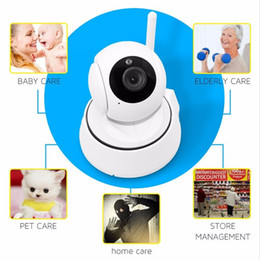 Wholesale 720P HD Wireless WIFI Control Monitor Security CCTV IP Rotating Camera Remote Control Home Camera Baby Monitor for IOS Andriod Tablet PC