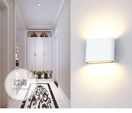 1PC 6W 12W Cube LED Outdoor Indoor Wall Sconces Light MINI Modern Up And  Down Wall Lamp Surface Mounted Wall Light For Villa Hotel Staircase  Affordable ...