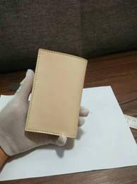 $enCountryForm.capitalKeyWord NZ - Original cowhide leather men's middle wallet Vintage handmade purse special genuine leather card holder unique designbusiness import wallet
