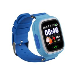 Card seCurity online shopping - Q90 Wrist Watch Tracking Smartwatch GPS SIM Card Anti Personnel Reminder Touch Screen SOS Call Kid Security Anti Lost Monitor