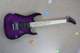 Ingrosso spedizione gratuita Nuovo arrivo 2017 chitarra kramer 5150 serie ARI tremolo viola chitarra elettrica