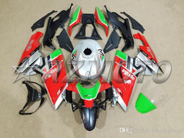 Rs 125 abs faiRing kit online shopping - 3 Free Gifts New ABS Fairing Kit Fit For Aprilia RS4 RS125 RS red silver