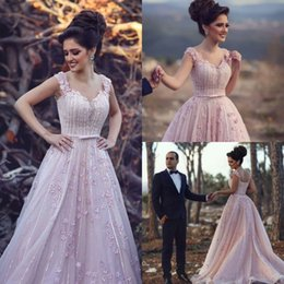 Barato Vestidos De Formatura Rosa De Lantejoulas Longo-3D Floral Appliqued Prom Dress Long 2017 Pink Bow Sash barato Sequins Sleeveless formal Evening Party Gowns
