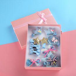 $enCountryForm.capitalKeyWord NZ - Children Headdress Baby Hair Ornaments Crown Hair Clip All-inclusive Clip Clip Cartoon Card Jewelry Set Combination Gift