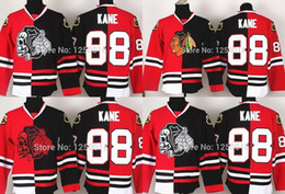 4726ba431 2016 Authentic Chicago Blackhawks Split Jerseys #88 Patrick Kane Split  Jersey,Split Ice Hockey Jersey, Embroidery logo,Size M--XXXL