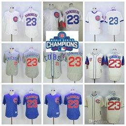 10e3dffbd ... 23 Ryne Sandberg Jersey Chicago Cubs Vintage 1988 Cooperstown Jerseys  White Blue Grey Cream Top Quality .
