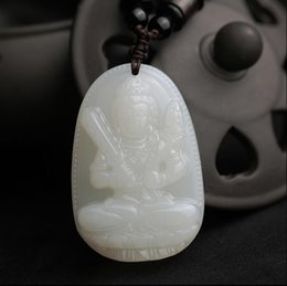 $enCountryForm.capitalKeyWord NZ - Natural and nephrite jade Buddha Pendant natal male and female patron saint of the twelve zodiac year of fate Pendant Necklace Pendant