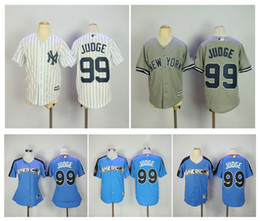 women 99 aaron judge jersey blue white grey kids ny new york yankees 2017 mlb all