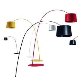 Италия Foscarini Twiggy Terra торшер Марк Садлер дизайн модный торшер внутреннего освещения 3 * E27 лампы 60W светодиодные энергосберегающие