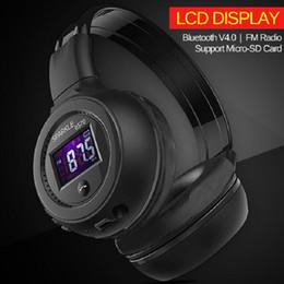 $enCountryForm.capitalKeyWord Canada - High Quality Foldable HiFi Stereo Wireless Bluetooth Headphone With LCD Screen FM Radio Micro-SD Slot Free Shipping