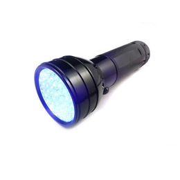$enCountryForm.capitalKeyWord UK - 51LED UV Light LED UV Flashlight UV Ultraviolet LED Flashlight Violet Black Light Torch 395 nM Portable Flashlight LED Torch Light Outdoor
