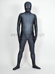Costume Spandex Gris Pas Cher-X-Force Deadpool Costume Grey Halloween Deadpool Party Costume Costume