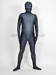 Traje Gris Spandex Baratos-X-Force Deadpool Traje Gris Halloween Deadpool Partido Cosplay Suit