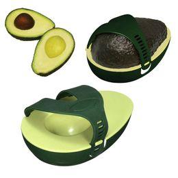 Plastic Hot Innovative Green Avocado Avo Stay Fresh Leftover Half Food  Keeper Holder Kitchen Gadget For Kitchen Saver