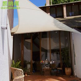 Garden Free Shipping 3x4x5 M Pcs Triangular Waterproof Sail Combination 180  Gsm PU Polyester Fabrics Used As Garden Sun Shade