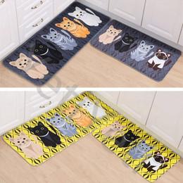 Hot Sale Kawaii Welcome Floor Mats Animal Cat Printed Bathroom Kitchen  Carpets Doormats Cat Floor Mat For Living Room Anti Slip Tapete Part 35