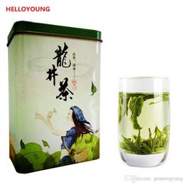 $enCountryForm.capitalKeyWord Canada - C-LC001 New 5A+ Chinese Top Grade West Lake Spring Longjing Green Tea Dragon Well Tea Long Jing Gift Packing China Green Food