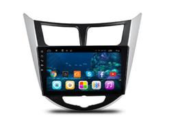 9-дюймовый Android 6.0 Car Dvd Gps Navi Audio для Hyundai Verna 2010 --- 1024 * 600 OBD 1GB Wifi 3G 4G поддержка Оригинальное рулевое колесо