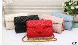 black purse gold chain 2018 - Women messenger bags handbags women famous brands designer mini cross body bags ladies cluch purses and handbags luxury