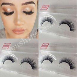 Making False Eyelashes Canada - 10 Pair Lot new Handmade Crisscross False Eyelashes 3D Silk Lashes Voluminous to fashion make up
