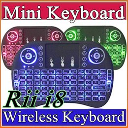 $enCountryForm.capitalKeyWord NZ - 30X Portable mini keyboard Rii I8 Wireless bluetooth Keyboards game Fly Air Mouse Multi-Media Remote Control Touchpad Handheld Android A-FS