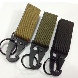 En plein air tactique en nylon sangle boucle armure ceinture multi-fonctionnelle boucle de l'olecranon crochet molle crochetM013