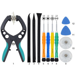 Discount 1.5 tablet With Professional Screen Separator Opener Tools Kit 0.8 1.2 1.5 Screwdriver Pry Tool Opener For Tablet PC iPad iPhone Sa