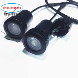 Wholesale 2pcs LED Car door welcome light courtesy led car laser projector Logo Ghost Shadow Light for audi for Toyota for Chevrole Warning lights