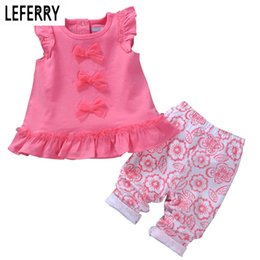 Clothing Boutique Suits Australia - Wholesale- Newborn Baby Girl Clothes Sets Two-piece Cotton Baby Girls Clothing Sets Summer 2016 Fashion Infant Clothing Girl Suit Boutique