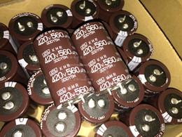 Discount nippon - Wholesale- 5pcs NIPPON 420V560UF KMQ 30X50mm new CHEMI-CON aluminum electrolytic capacitor Promotion kit Odroid free shi