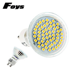 China LED Sportlight GU10 AC85-265V 4W SMD2835 60LEDS Light Bulbs For Home Ceiling Fans Replace 40W Halogen Lamps free shipping suppliers