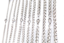 $enCountryForm.capitalKeyWord UK - 5pcs 3mm 3.5mm 4.8mm 5.7mm 6.9mm 7.5mm Stainless Steel Lanterns Necklace Chain For women men locket pendant