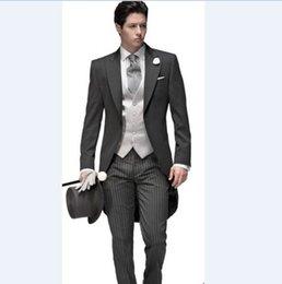 jacket+pants+vest+tie New Arrival Mens Dinner Party Prom Suits Groom Tuxedos Groomsmen Wedding Blazer Suits K:1343