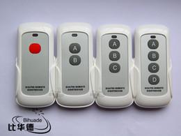 Long Range Remote Control Canada - Wholesale- Free shipping New 315MHz Garage Door Remote Control Long Range RF Wireless Presenter