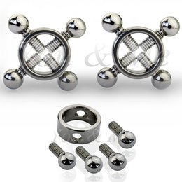 Sex Toys For Pair NZ - 1 Pair Stainless Steel Breast Nipple Clamp ,Nipple Clip ,Breast Clip Bdsm Bondage Adult Game Sex Toys For Women Couples Flirting