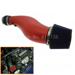 Wholesale AIR INTAKE PIPE RED FILTER FOR HONDA CIVIC