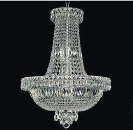 Phube Lighting Modern Chrome Crystal Chandelier Classic Crystal Chandelier  Light Fixtures 71043