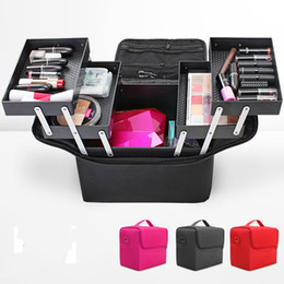 online shopping Girl Luxury Cosmetic Bag Large Space Beauty Box Organizer Case Beautiful Gift Bag x27x16cm
