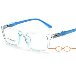 Chinese  Wholesale- 45-12-125 Optical Flexible Super Light Kids frames eyewear Optical glasses frame for kids Child eyeglass frames TR 8806 manufacturers
