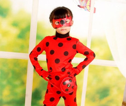 Costumes Mignons Pour Noël Pas Cher-Cute Girl et Adult Ladybird / Ladybug Costume Halloween Costume de Noël Cosplay Princess Costumes Enfants Fairy Fancy Dress