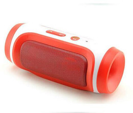 Portable Speaker Microphones Canada - Wholesale-Outdoor Portable Bluetooth Speaker Stereo Speaker with Microphone FM Radio Support Handfree TF Card AUX Slot for Smartphone