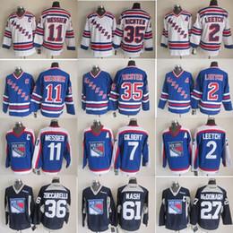0335a6cd York Rangers Throwback Hockey Jerseys 11 Mark Messier 35 Mike Richter 2  Brian Leetch 99 Wayne Gretzky home away Hockey Jerseys cheap brian leetch  jersey ...