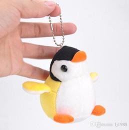 $enCountryForm.capitalKeyWord Canada - Super Cute 9cm 3.5' Penguin Plush Toy , keychain pendant Plush Stuffed TOY DOLL Wedding Gift Plush DOLL TOY