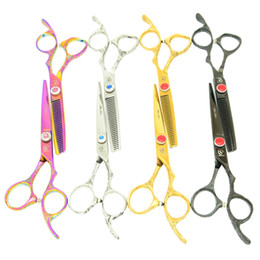 $enCountryForm.capitalKeyWord Australia - 6.0Inch Meisha Japan 440C High Quality Professional Hairdressing Scissors Kits Hair Cutting Scissors Barber Shear Set Salon,HA0340