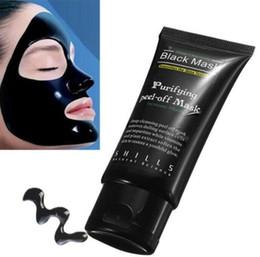 Anti Aging Face Masks UK - Black Suction Mask Anti-Aging 50ml SHILLS Deep Cleansing purifying peel off Black face mask Remove blackhead Peel Masks