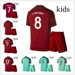 db0d6acc95e ... cristiano ronaldo portugal home jersey usa wholesalers hot portugal  kids kits soccer jerseys 16 17 ronaldo home red away . bd60c ...