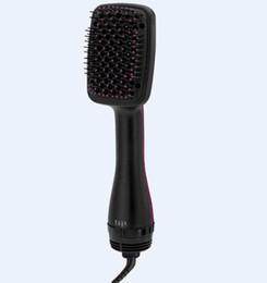 Air brush hAir styler online shopping - The new professional brush hair dryer comb hair styler in the straightener ceramic hot air blower modelling tools v
